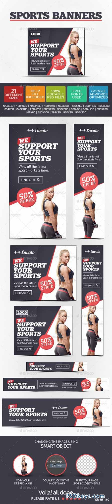 Sports Store Banners 9481922