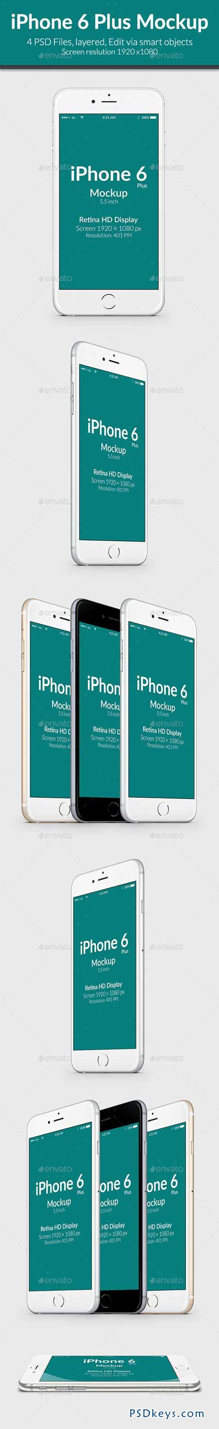 iPhone 6 plus Mock-up 9537087