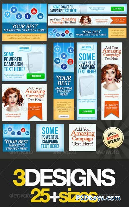 Multipurpose Web Banner Design Bundle 5032342