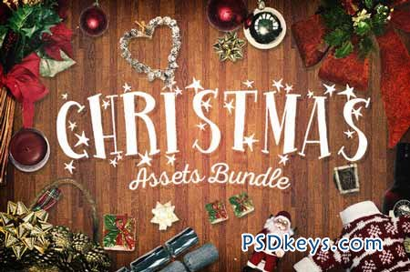 Christmas Assets Bundle 120645