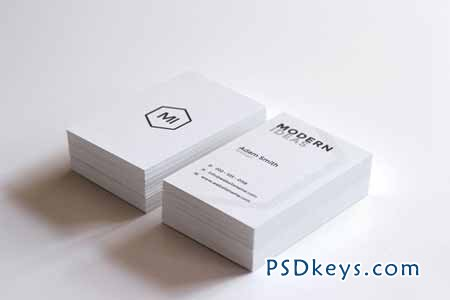 Minimal Business Card Template 85957