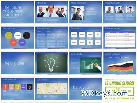 Universal Pitch Deck Nine PowerPoint 7988