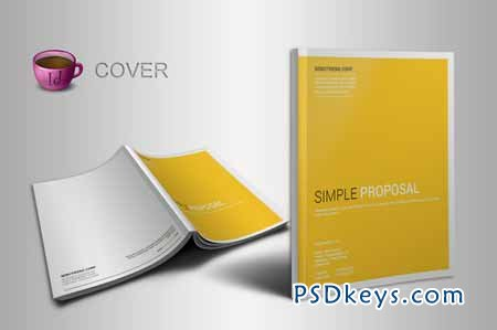 indesign proposal template 25121