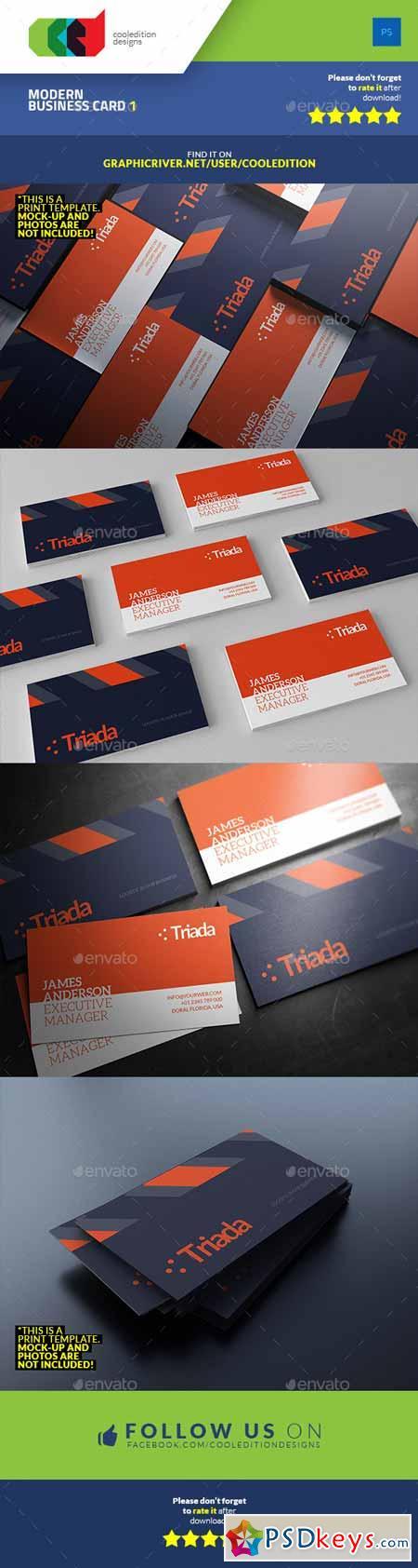 Modern Business Card 1 9559421