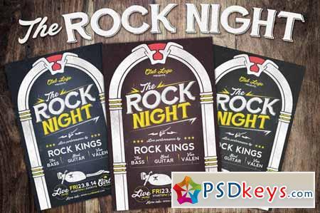 Rock Night Flyer 123282