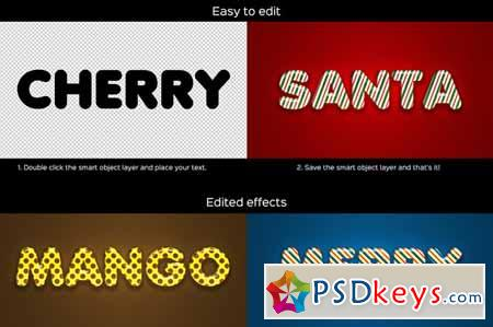Candy Text Effects Vol.1 123179