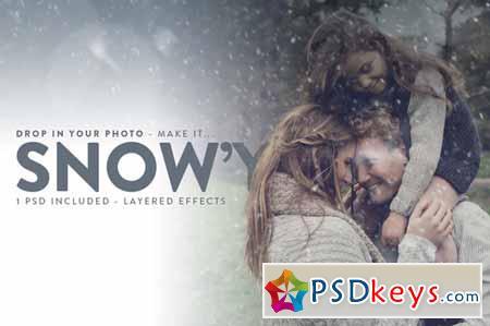 Snowy - Falling Snow Effects 123270