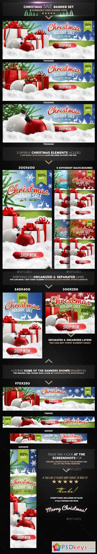 Christmas Sale Banner Set v2 9478963