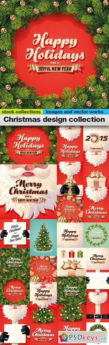 Christmas design collection 25xEPS