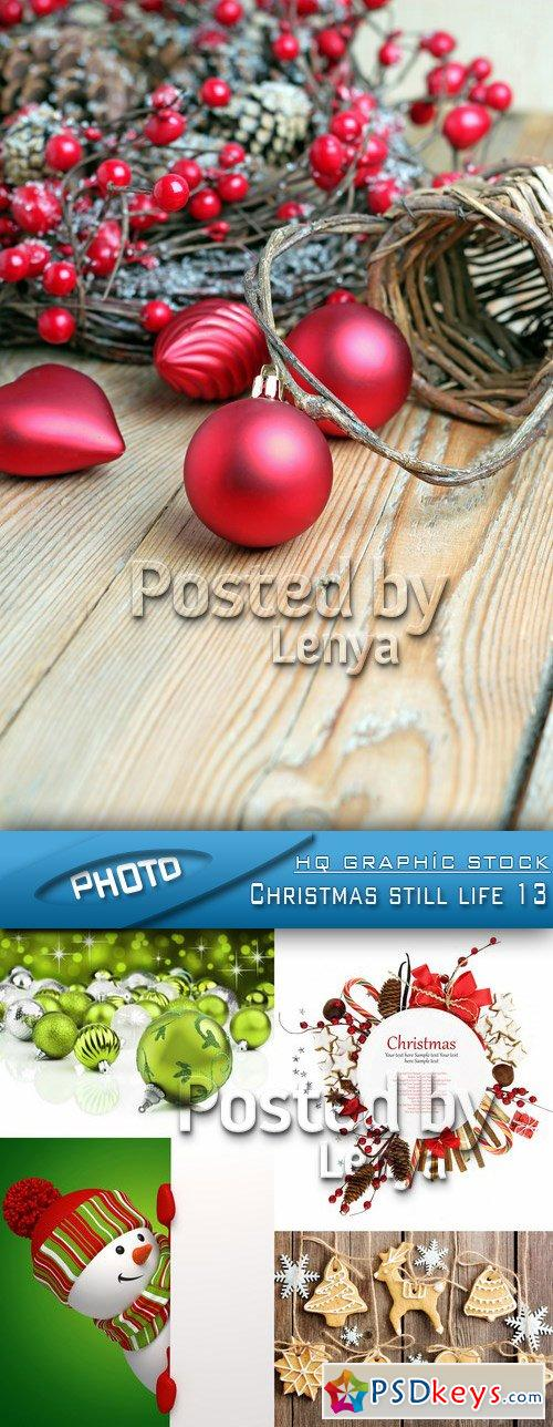 Christmas still life free download photoshop vector