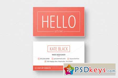 Business Card Template Spark 120072