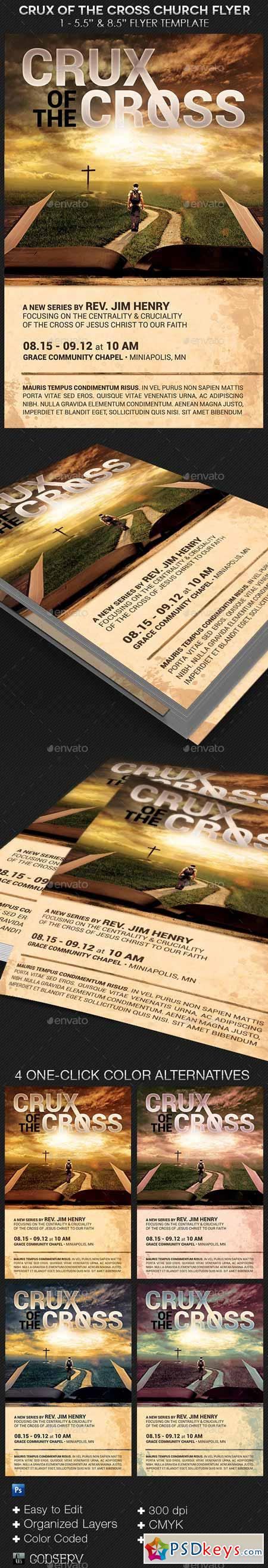crux of the cross church flyer template 8574732 crux of the cross church flyer template 8574732