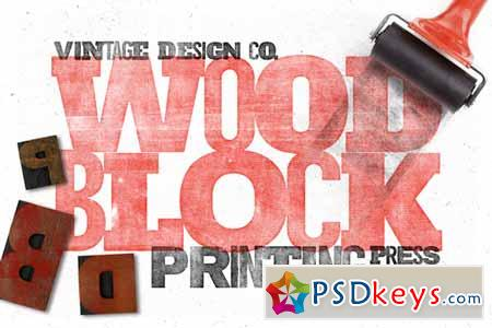WoodBlock Printing Press Kit 101131