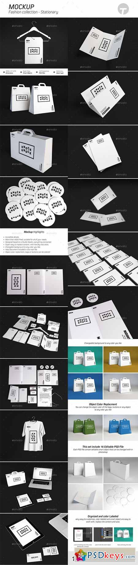Stationary Mockup ( Fashion Collection ) 9596528