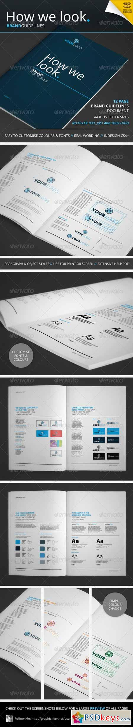 How We Look - Brand Guidelines 4355542