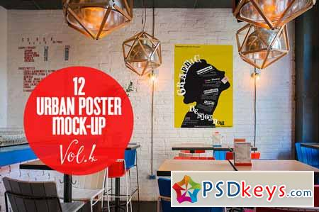 Urban Poster Mock-up VOL.4 95745