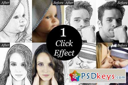 Sketch Artist-Photo to Sketch effect 114365