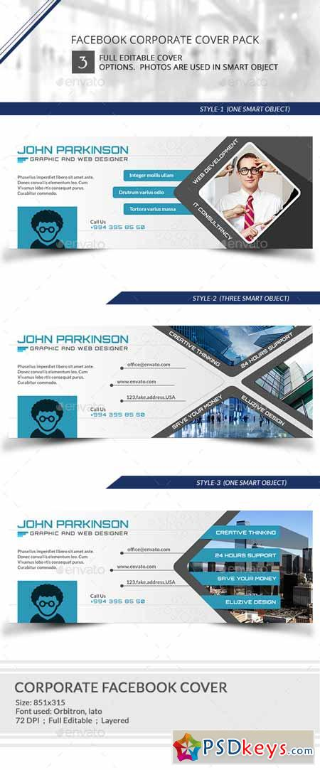 Corporate Facebook timeline Cover 9545773