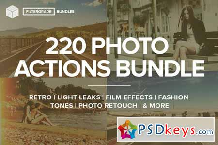 FilterGrade - 220 Actions Bundle 20992