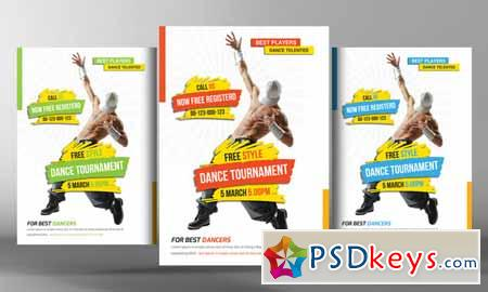 Street Dance Flyer Template 127105