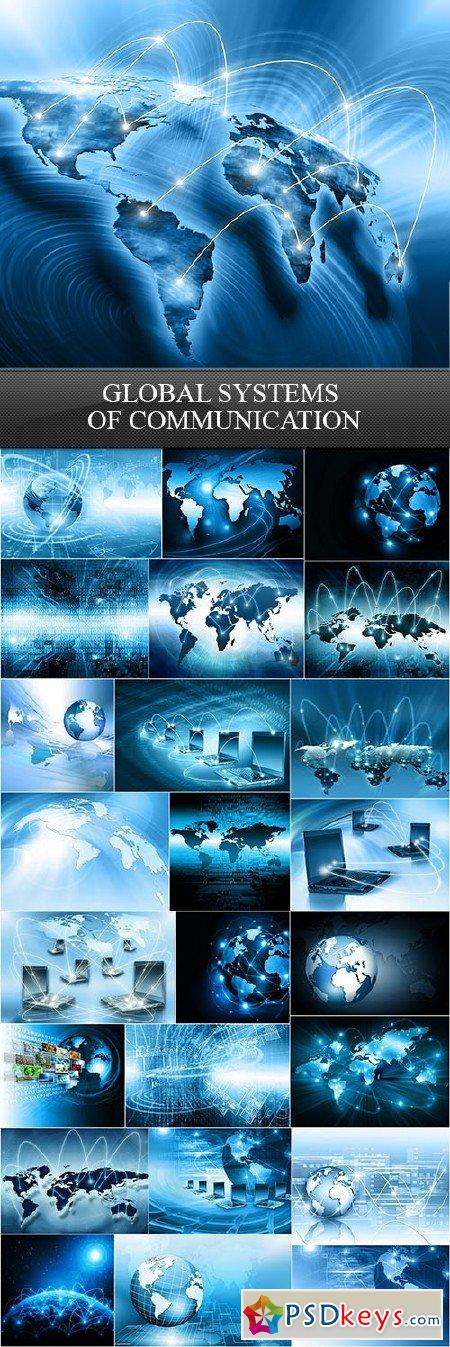 Global Systems of Communication 25xUHQ JPEG
