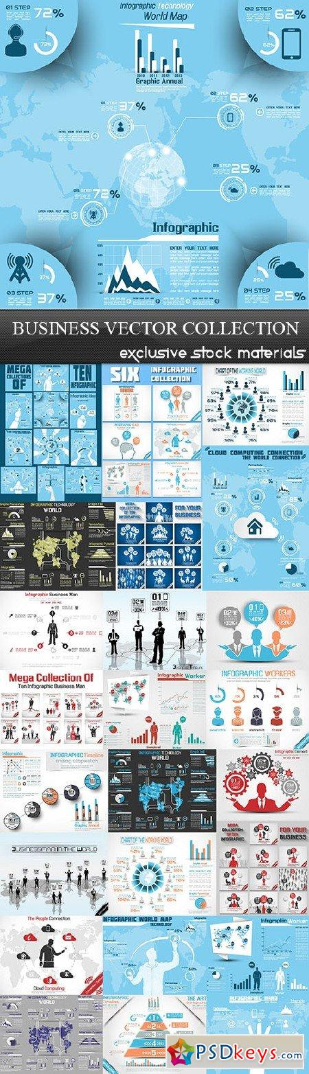 Business Vector Collection 25xEPS