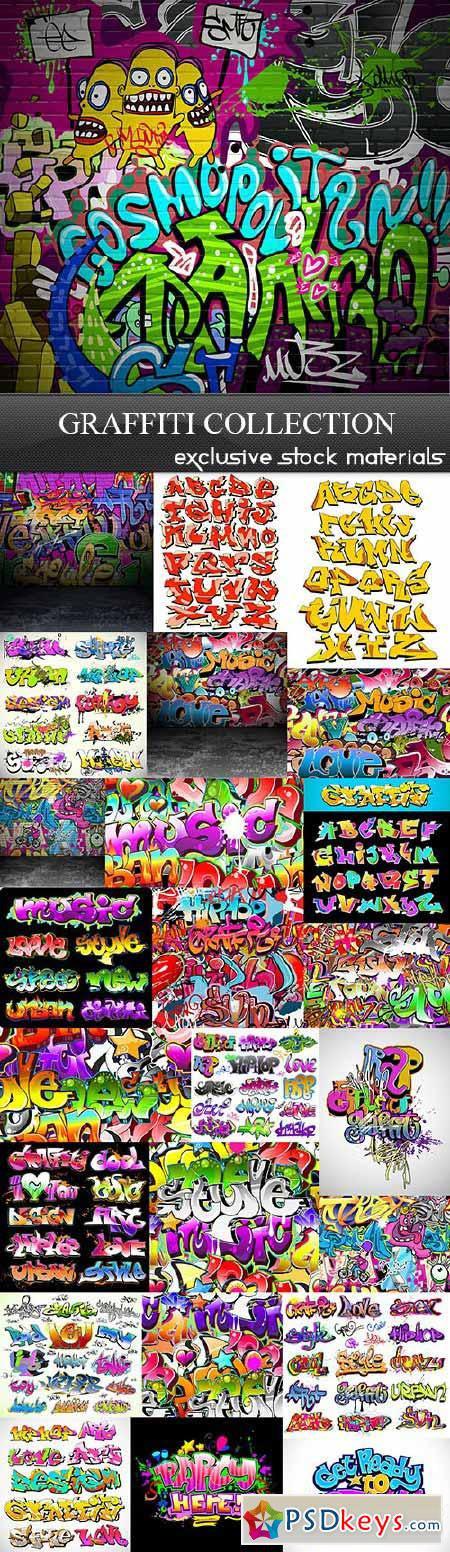 Graffiti Collection 25xEPS