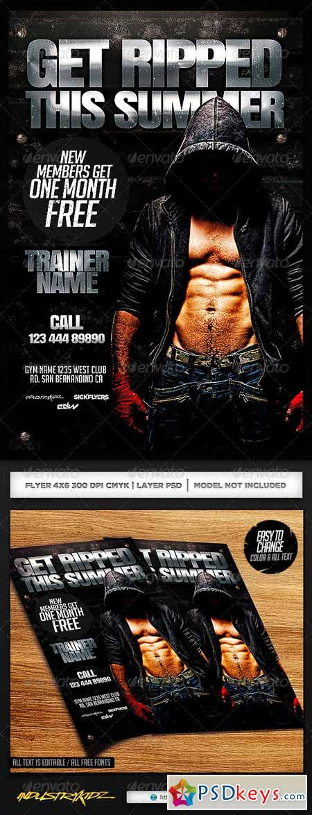 Fitness Flyer Template 7301543