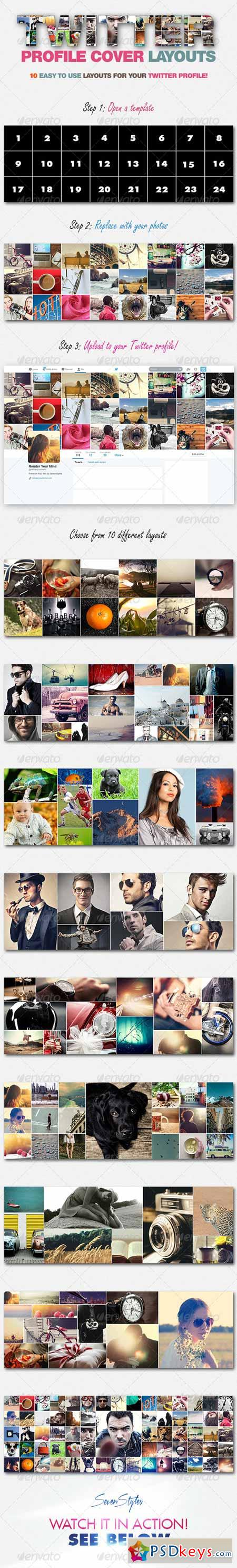 10 Twitter Profile Cover Templates 7672247