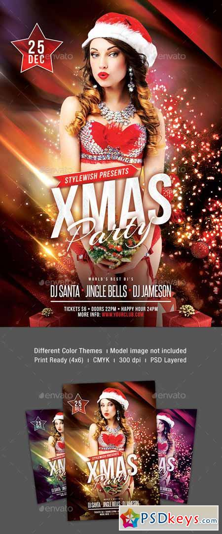 Christmas Party Flyer 9368810