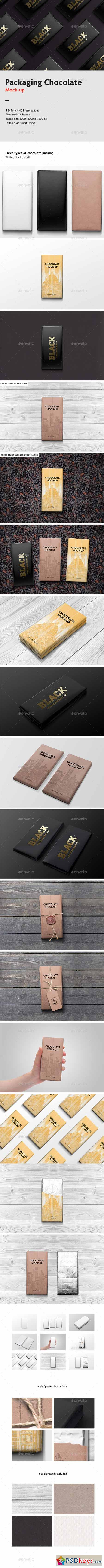 Packaging Chocolate Mock-Up 9693093
