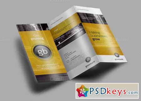 Tri Fold Brochure Mock-Up 1 128461