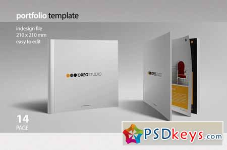 Oreo Portfolio Template 123195 » Free Download Photoshop Vector ...