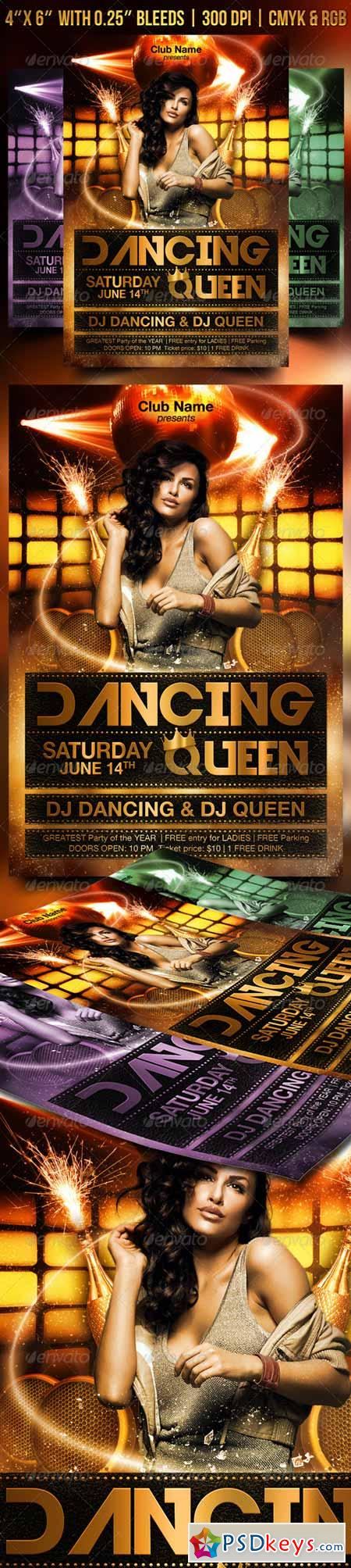 Dancing Queen Flyer 7666383
