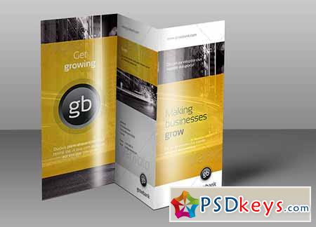 Tri Fold Brochure Mock-Up 3 128467