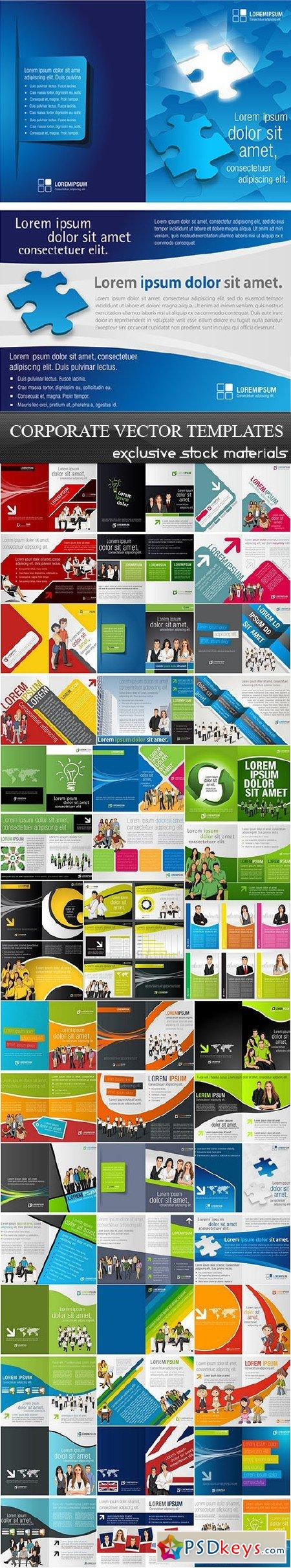 Corporate Vector Templates 25xEPS