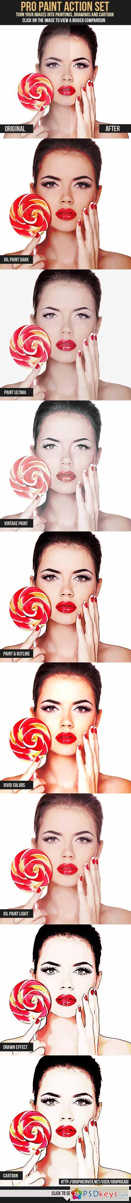 Pro Paint Action Set 7795194