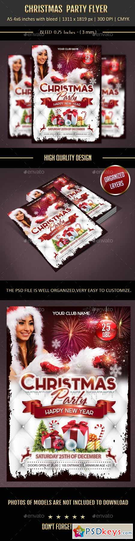 Christmas Party Template 9588104