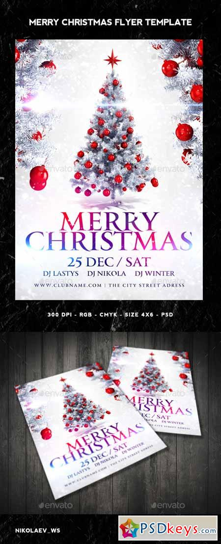 Merry Christmas Flyer 9683416