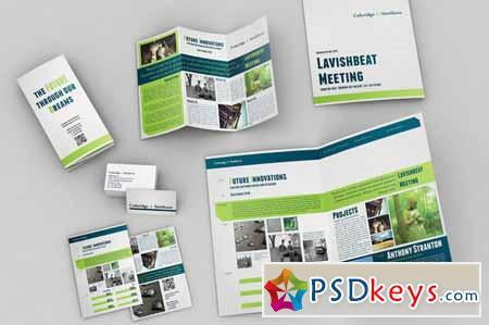 Set of Brochures Stationery 01 110602