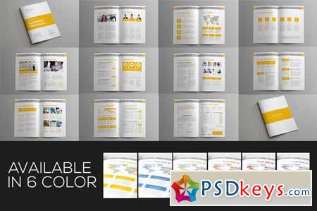 Jogja Simple Proposal Template 123880 » Free Download Photoshop