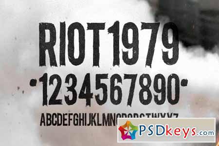 Riot Gothic Condensed 54125