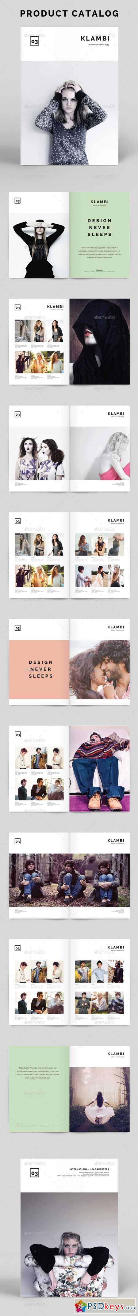 Product Catalog Klambi Template 9096871