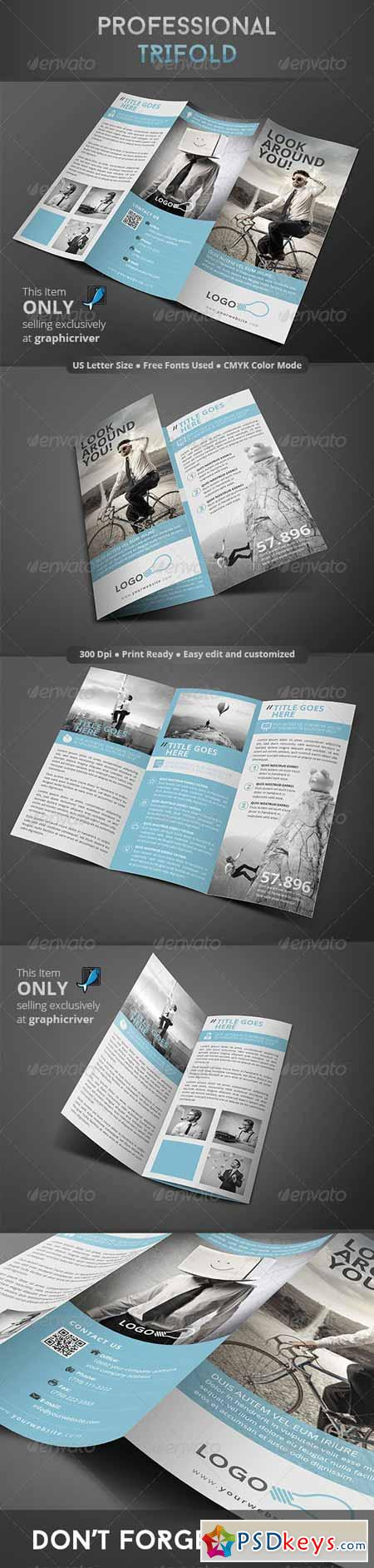 Professional Trifold 8319378