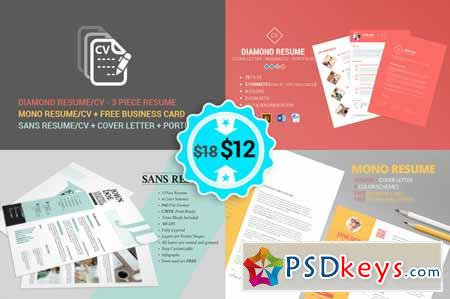 Resume - CV - No1 Bundle 132869