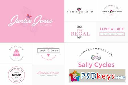 20x Pink Logo Bundle 109925