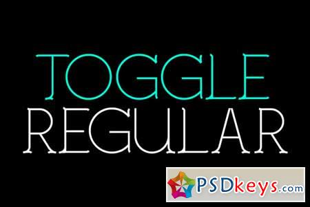 Toggle Typeface 96359