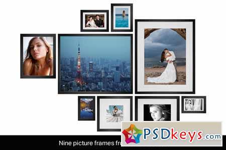 9 Picture Frame Mockups 136090