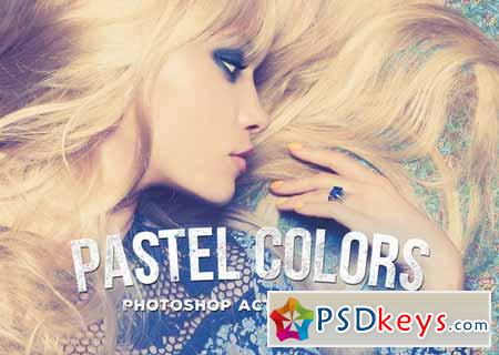 Pastel Colors Photoshop Actions 137785