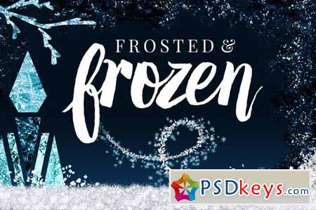 Frosted+Frozen Icy Winter Kit Ps+Ai 138356